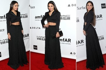 Vanessa Hudgens Shows Us an Elegant Way to Wear a Crop Top
