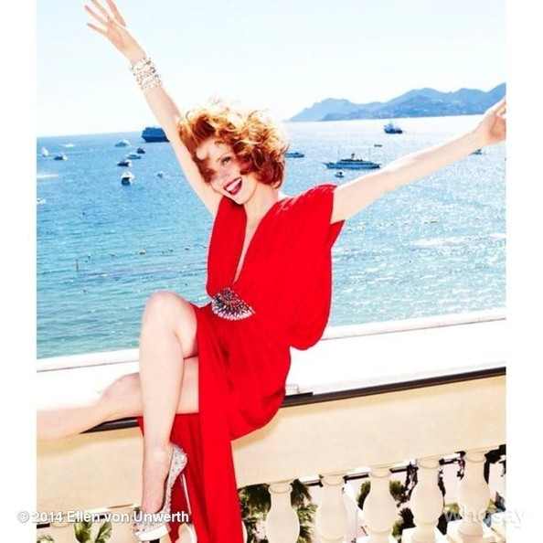 Jessica Chastain Remembers Her First Cannes