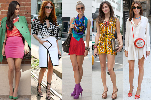 The Best of Fashion Week Street Style Spring 2012