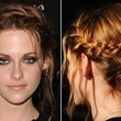 Kristen Stewart's Side-Braided Bun
