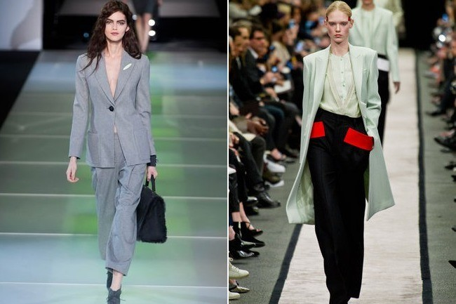 suits for women fall 2014 fashion week