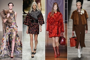 Milan Fashion Week Runway Trend: Opulent Furs