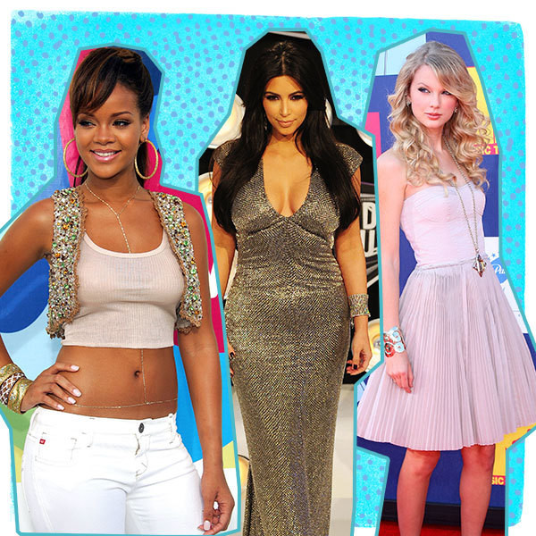 This is What Your Favorite Celebs Wore to Their First VMAs