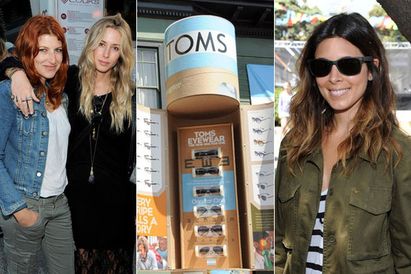 Celebs Fete TOMS' One for One Eyewear Launch