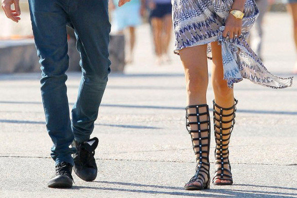How to Wear Tall Gladiator Sandals