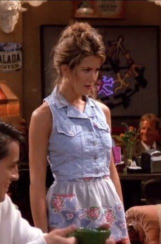The One With Her Favorite Go To Look The Denim Vest