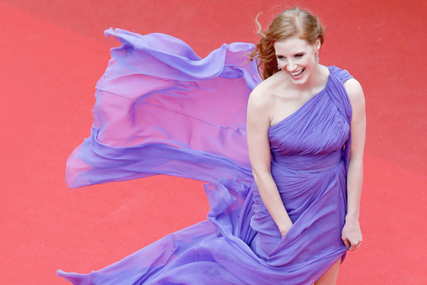 Style Crush: Jessica Chastain on the Red Carpet