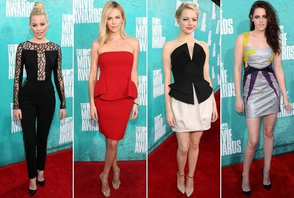 The Best & Worst Dressed at the 2012 MTV Movie Awards