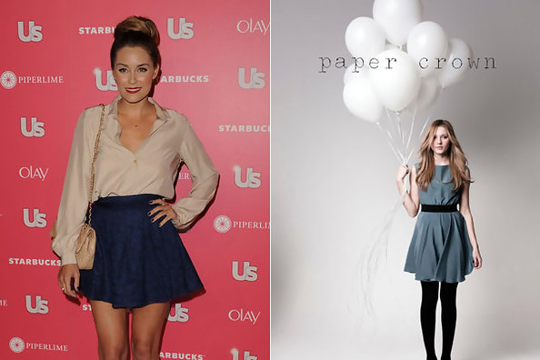 Play Dress-up With Lauren Conrad - Paper Crown Fall 2011