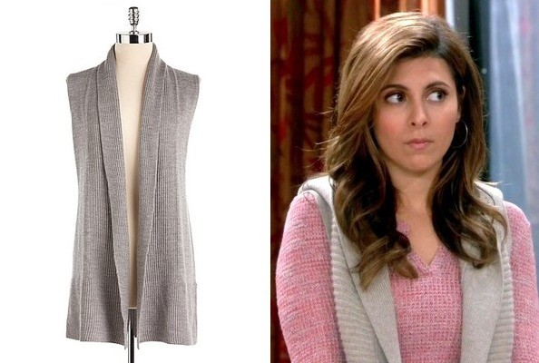 Jamie-Lynn Sigler's Cozy Vest on 'Guys with Kids'