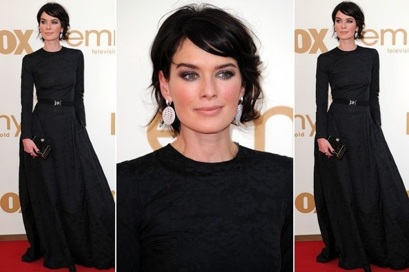 #TBT: That Time Lena Headey Made a Simple All-Black Frock Ultra Fun