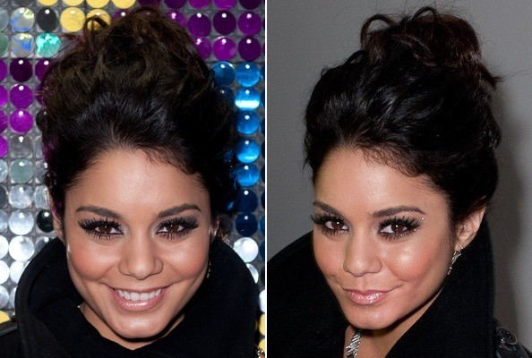 Vanessa Hudgens' Simple Voluminous Updo