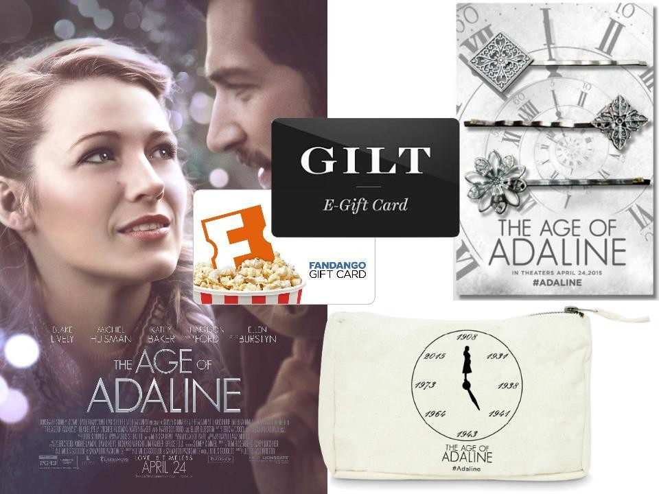 CONTEST: Win Tickets—and Stylish Prizes—to See 'The Age of Adaline'