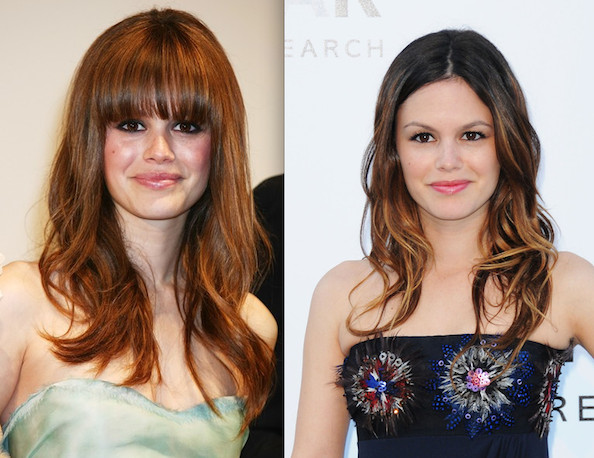 When Bangs Go Bad: 5 Stars We Really Prefer Without Face Fringe