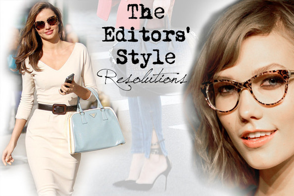 StyleBistro Editors' 2013 Fashion Resolutions