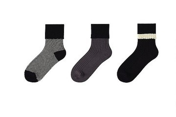 Yes Please: Uniqlo Scallop Crew Socks