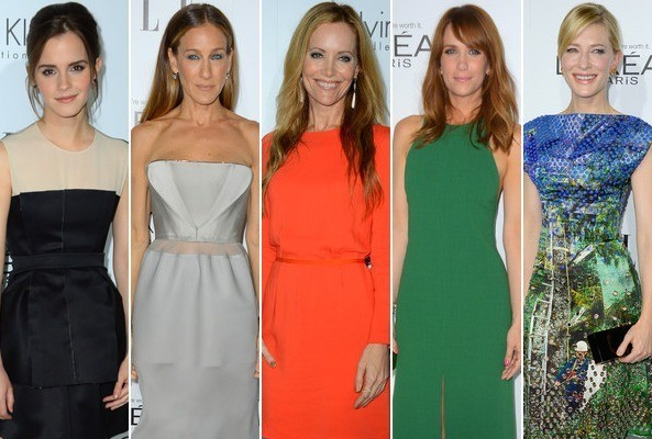 Stylish Stars at Elle's Women in Hollywood Celebration