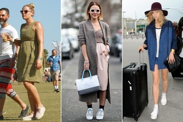 Trend to Try: Platform Sneakers