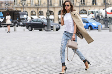 Izabel Goulart Shreds the Paris Sidewalks
