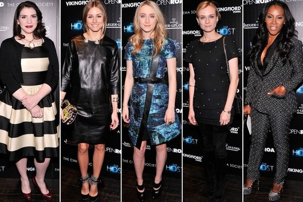 Best Dressed at 'The Host' Screening in New York City