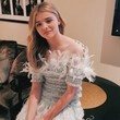 Chloe Moretz Loves Chanel Feathers