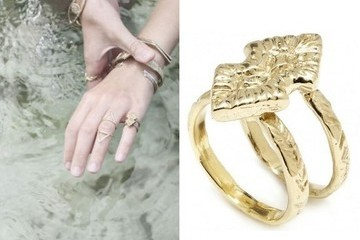 StyleBistro STUFF: Odette Double Arrowhead Ring
