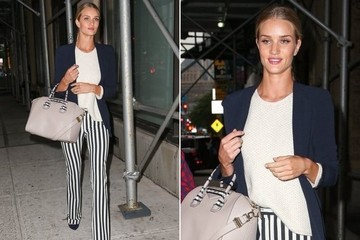 Rosie Huntington-Whiteley's Chic Stripes