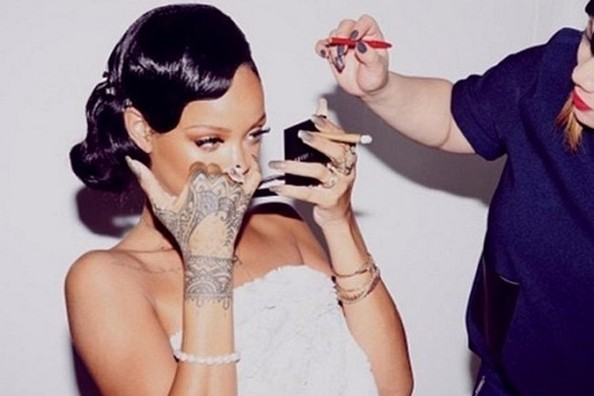 Rihanna's Getting-Ready Routine