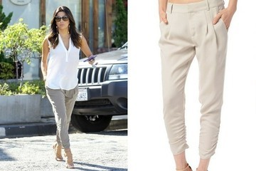 Found: Eva Longoria's Wear-With-Everything Pants