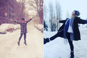 The Best Celebrity Winter Style Instagrams