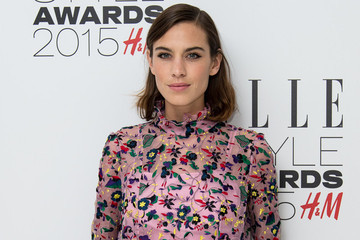 Look of the Day: Alexa Chung's '70s-Inspired Frock