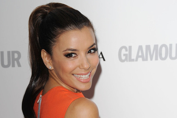 How to DIY Eva Longoria's Wrapped High Pony