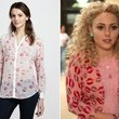 A Lipstick-Print Motif Top Like AnnaSophia Robb's on 'The Carrie Diaries'