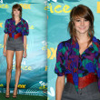 Shailene Woodley in High-Waisted Shorts