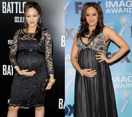 Picture - Shop Tia Mowry's Romantic Maternity Look