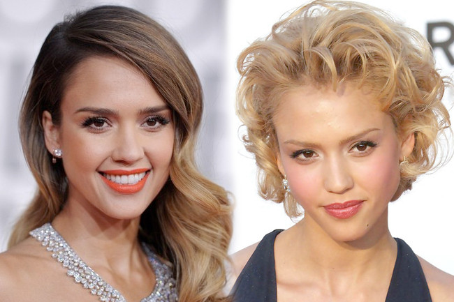 Fashion Flashback - Jessica Alba Then & Now