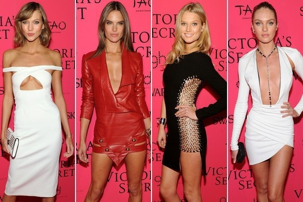 Best Dressed at the Victoria's Secret Fashion Show After Party