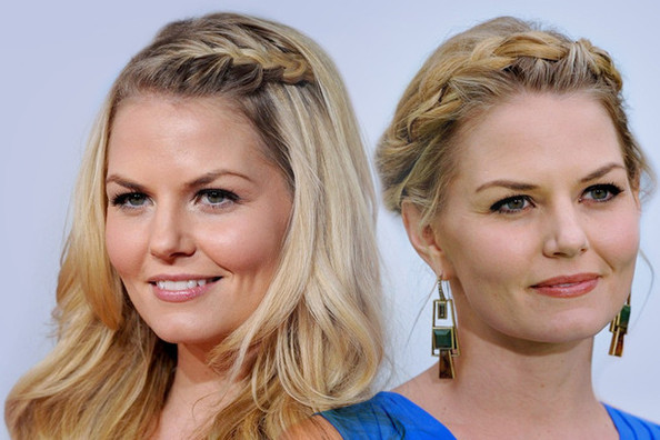 Jennifer Morrison's Best Braided 'Dos