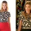 AnnaLynne McCord's Chain Print Shirt on '90210'