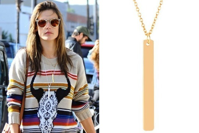 Found: Alessandra Ambrosio's Necklace - Shop Your Favorite ... Alessandra Ambrosio Necklace