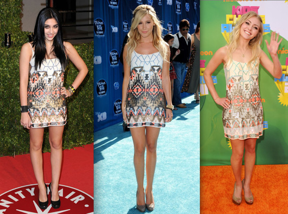 Who Wore All Saints Best: Lourdes Leon, Ashley Tisdale or AnnaSophia Robb?