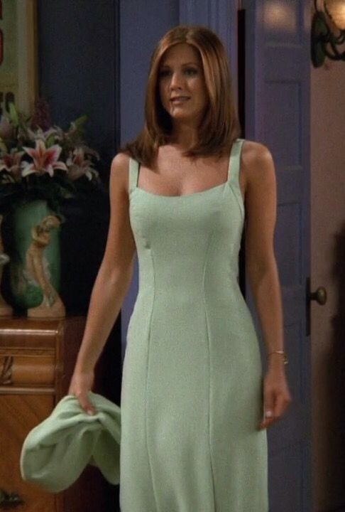 The One Where Rachel Made Jaws Drop In A Mint Green Dress