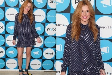 Found: Bella Thorne's Star-Patterned Shirt