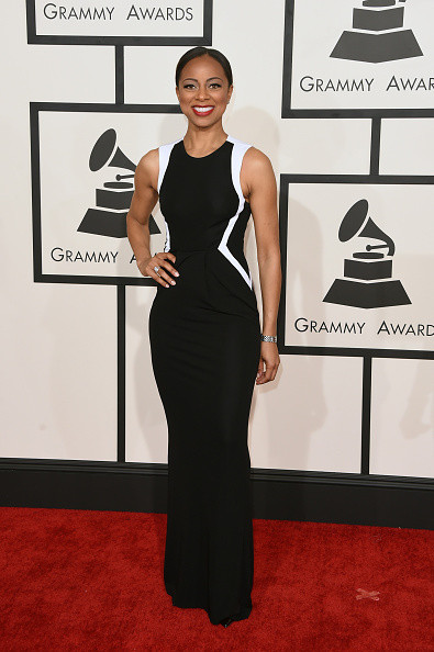 Nischelle Turner Every Look At The 2015 Grammy Awards