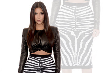 15 Ways Kim Kardashian Wears Pencil Skirts