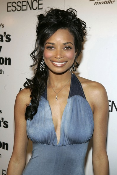 Rochelle Aytes Hairstyles For Round Faces Stylebistro