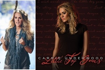 "Steal Carrie Underwood's Edgy Maternity Style in ""Little Toy Guns"""