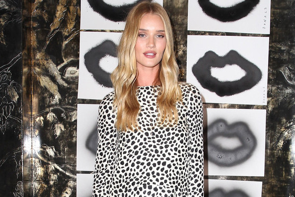Rosie Huntington-Whiteley's Dalmation-Print Look