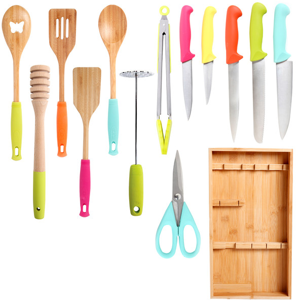 colorful kitchen tools gift guide 2014 for the foodie