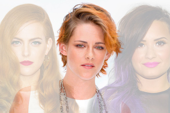 The Celebrity Hair Rainbow